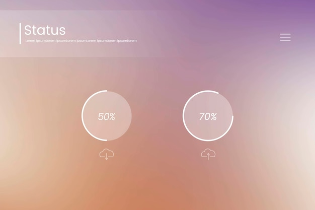 Web design background Free Vector