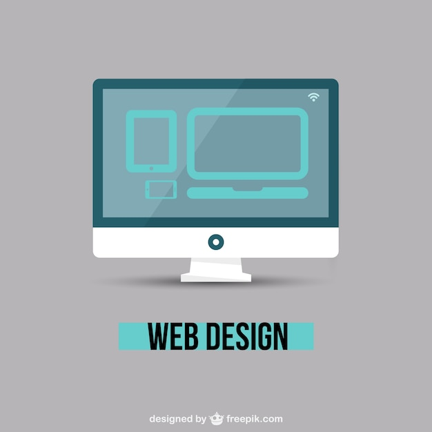 Web design minimal vector free download for Minimalist web design