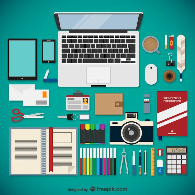 Office supplies vectors photos and psd files free download Office designer online
