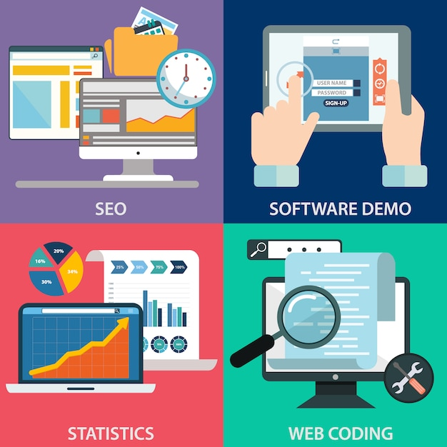 Software Design Vectors Photos And Psd Files Free Download