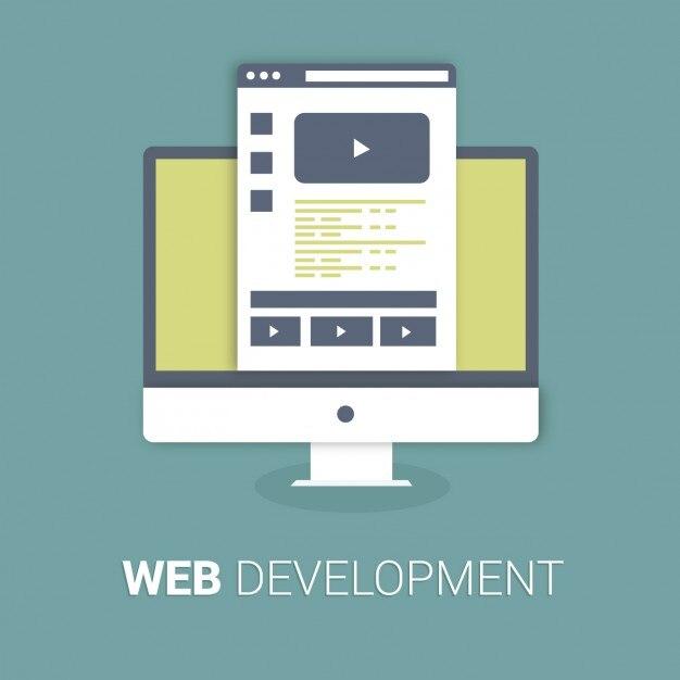 Web Development Background Vector | Free Download