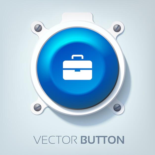 Webインターフェイスボタン 無料ベクター