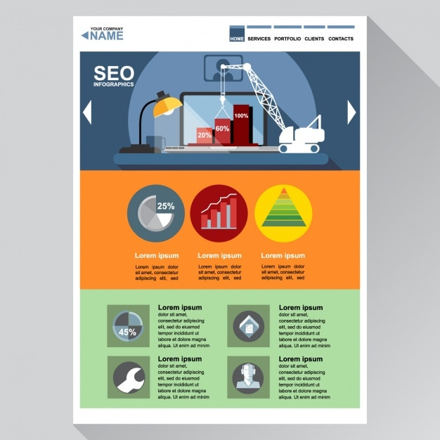 Web template for seo vector free download web template for seo free vector maxwellsz
