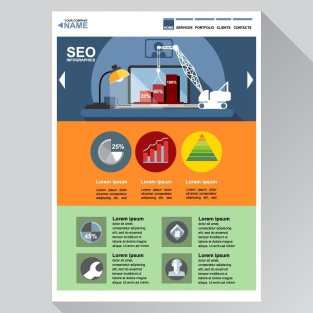 SEO PowerPoint Template - PresentationDeck.com |Seo Templates