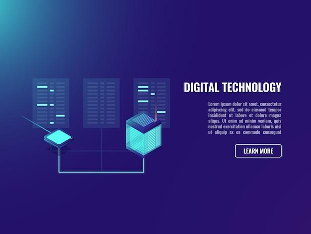 ファイル交換、クライアントサーバーアプリケーション、webサーバールーム、データエンコーディング 無料ベクター