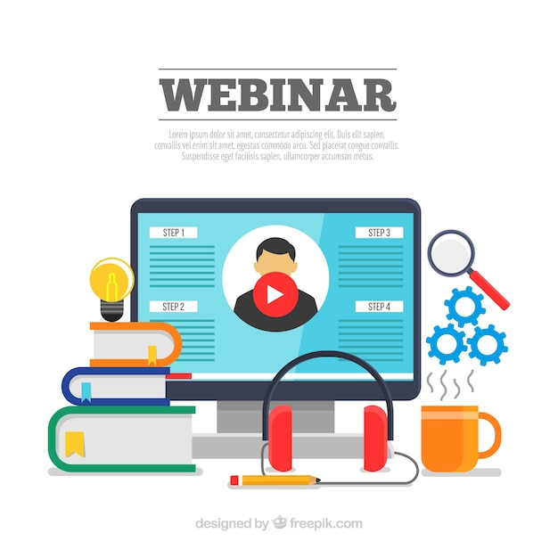 Webinar Vectors, Photos and PSD files | Free Download
