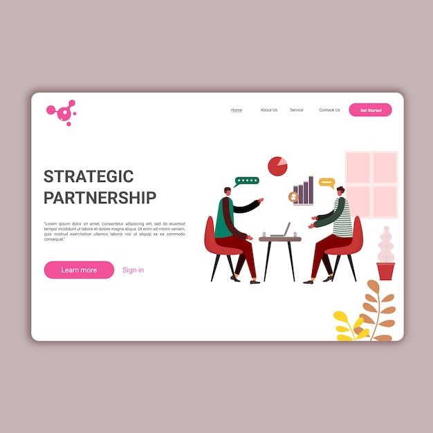 Websites template for website or apps Premium Vector