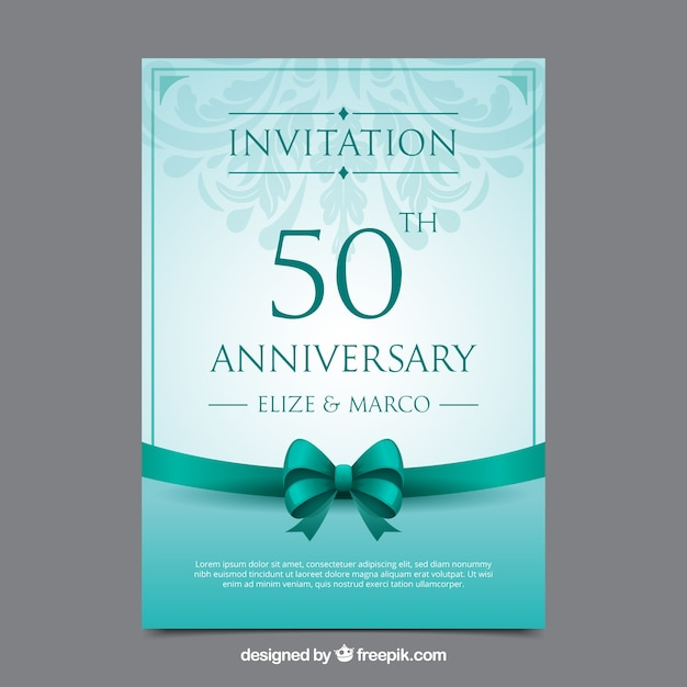 Invitation anniversaire vectors photos and psd files free download stopboris Choice Image