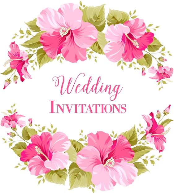 Wedding background design Vector | Premium Download
