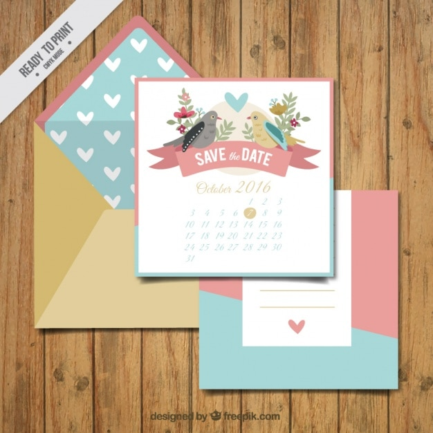 Wedding card with an envelope vector free download wedding card with an envelope free vector stopboris Choice Image