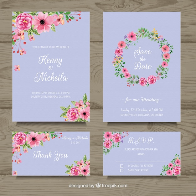 Wedding Card Vectors Photos And PSD Files