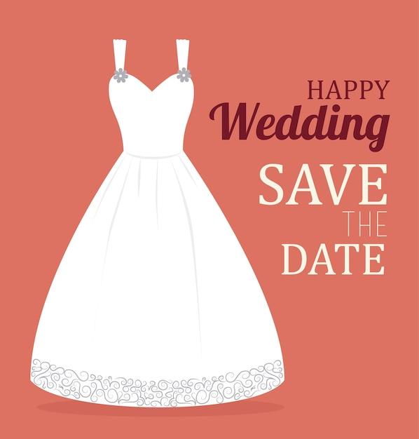 Wedding design Premium Vector