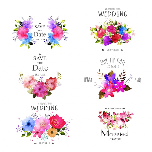 Flower Wreath Vectors Photos And Psd Files Free Download
