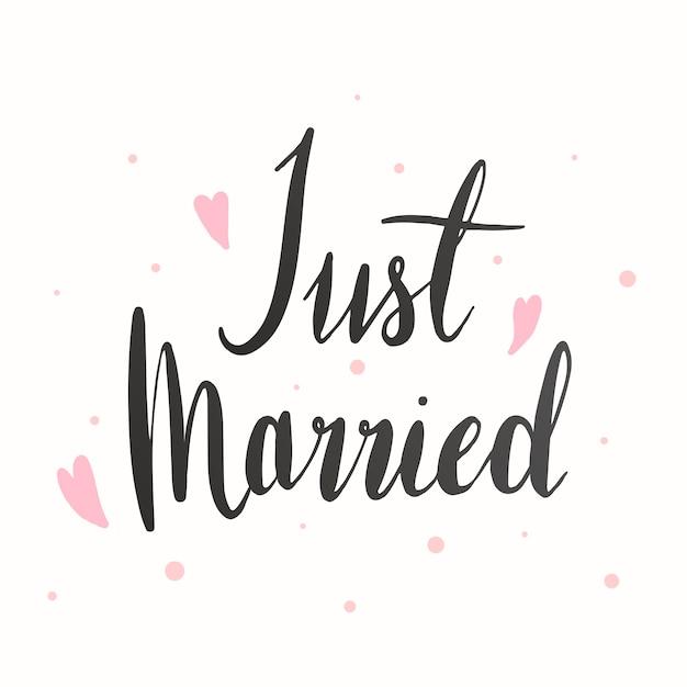 Wedding greeting card Free Vector