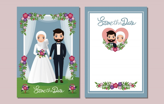 Muslim Wedding Invitation Images Free Vectors Stock Photos Psd