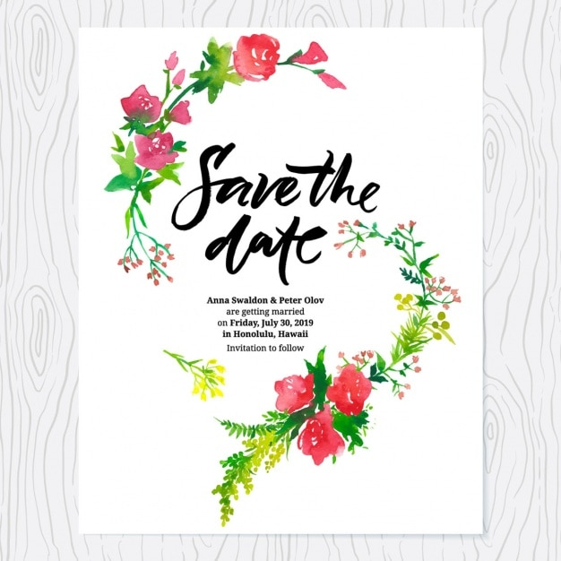 wedding invitation design vector | free download, Wedding invitations