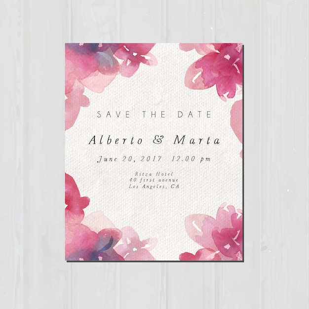 Wedding invitation design vector free download wedding invitation design free vector stopboris Image collections