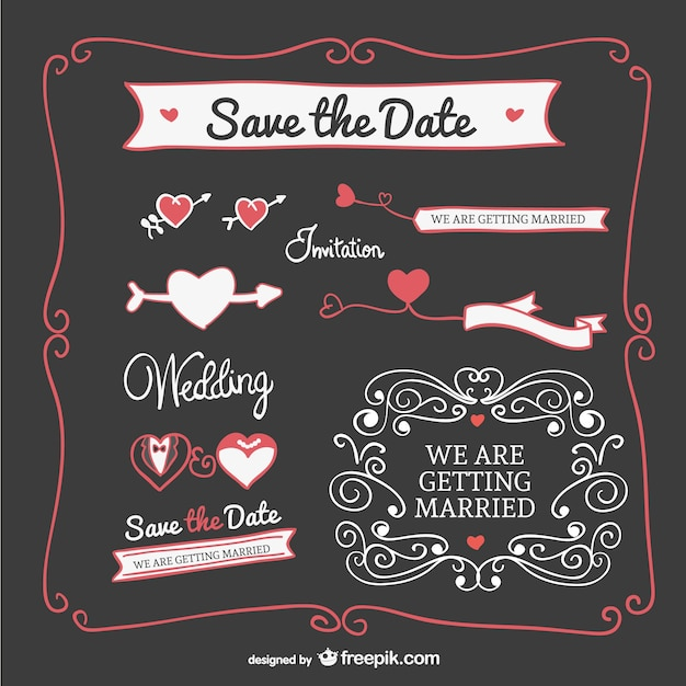Wedding invitation graphics elements vector free download wedding invitation graphics elements free vector stopboris Image collections
