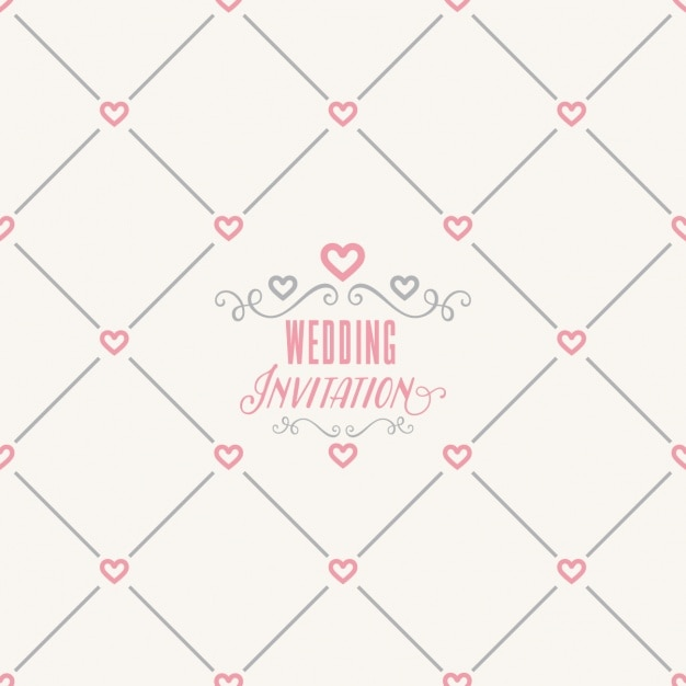 Wedding pattern design Vector | Free Download
