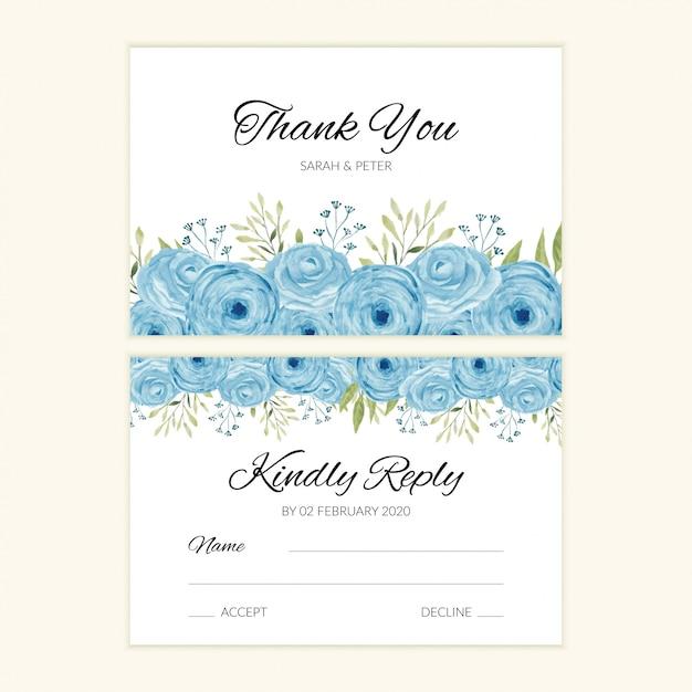 Wedding Response Card Template from image.freepik.com