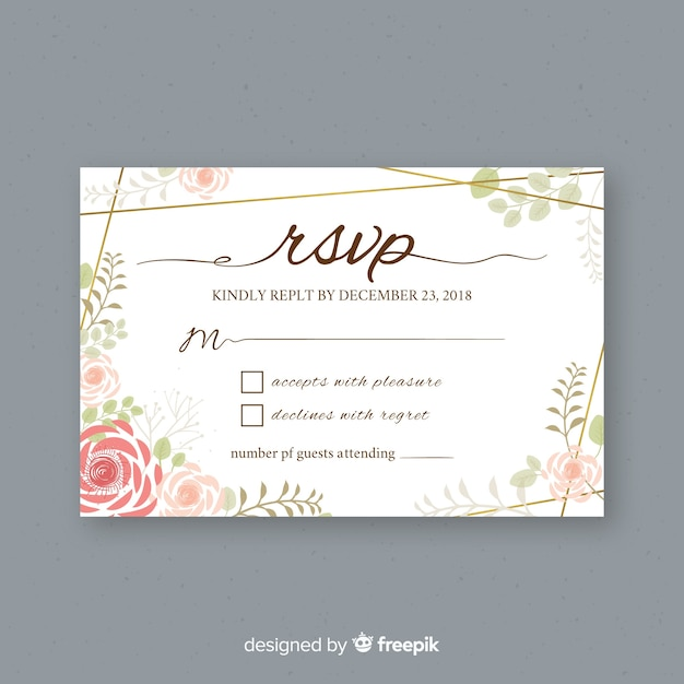 Rsvp Vectors, Photos And PSD Files
