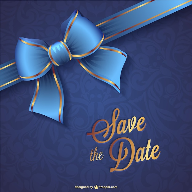 wedding save the date vector vector free download