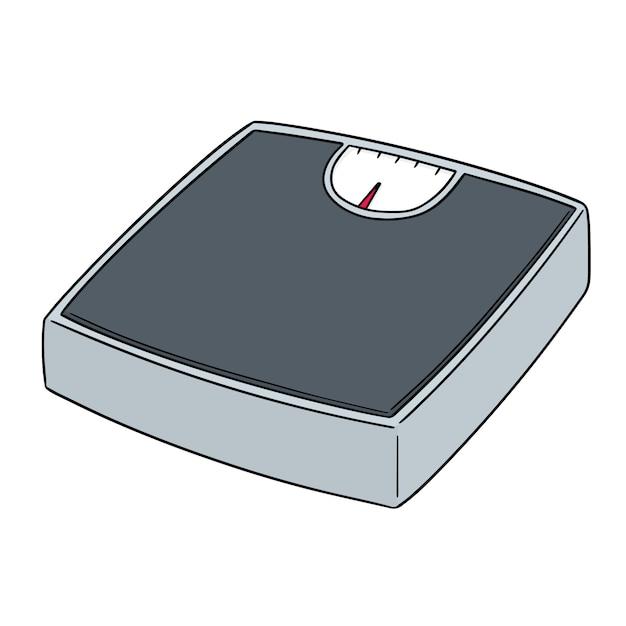 Weighing machine Premium Vector