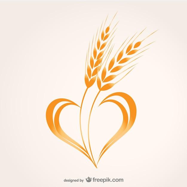 Wheat heart compositio...