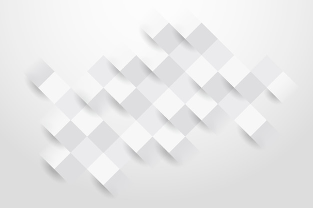 White abstract background in paper style Free Vector