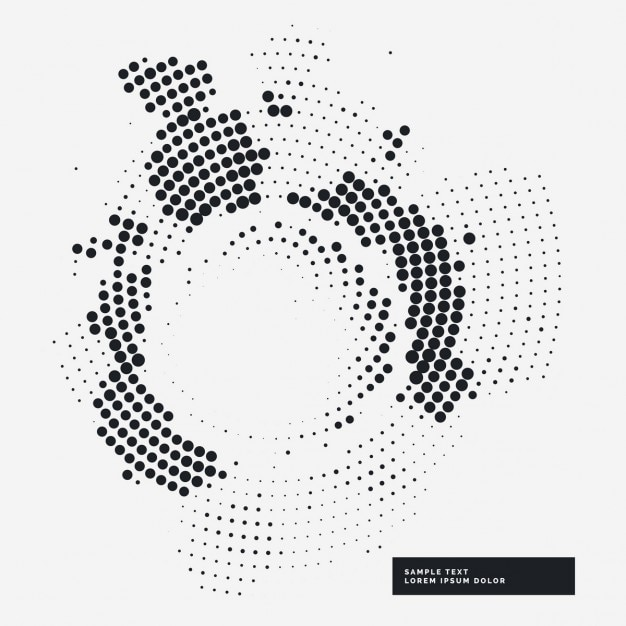 white abstract background with black dots vector free download