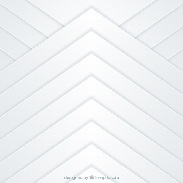 White abstract background with geometric shapes
