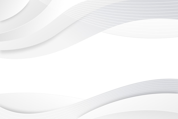 White abstract background Free Vector