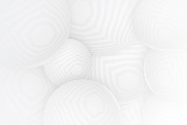 白い抽象的な背景 無料ベクター