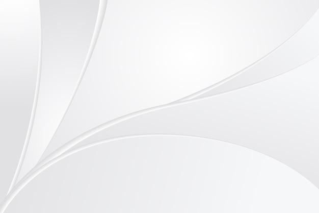 白い抽象的な背景 Premiumベクター