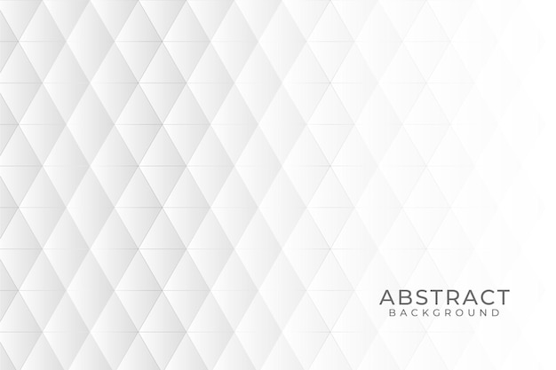 Белый абстрактный фон Бесплатные векторы