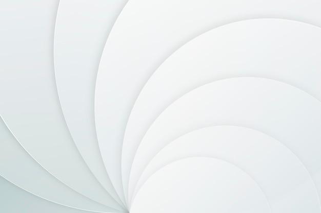 白い抽象的な壁紙 無料ベクター