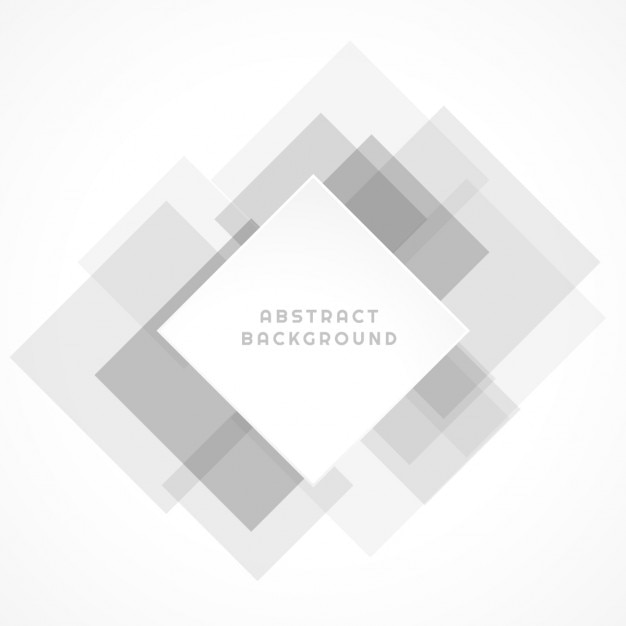 white and gray abstract shapes Free Vector