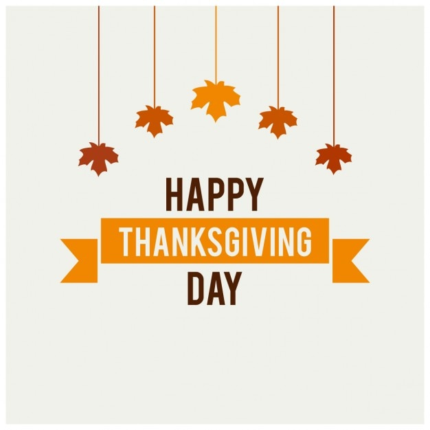 white background for thanksgiving day vector free download