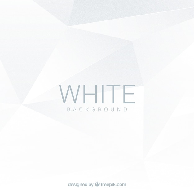 White background with abstract shapes