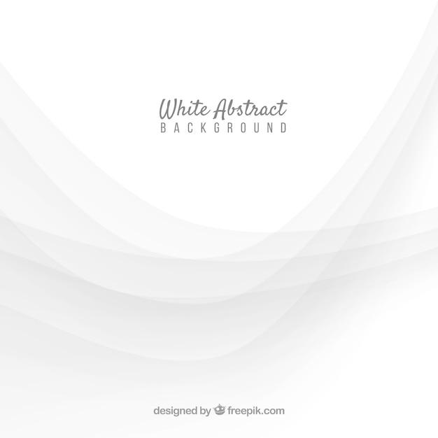 Белый фон с абстрактным стилем Бесплатные векторы