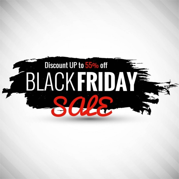 Download Vector White Background With Black Paint For Black Friday Vectorpicker