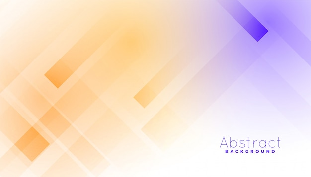 White background with colorful diagonal lines effect Free Vector