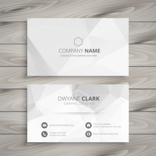 White business card vector free download white business card free vector reheart Image collections