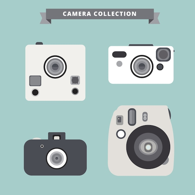 White camera collection