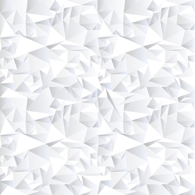 White crystal abstract background Premium Vector