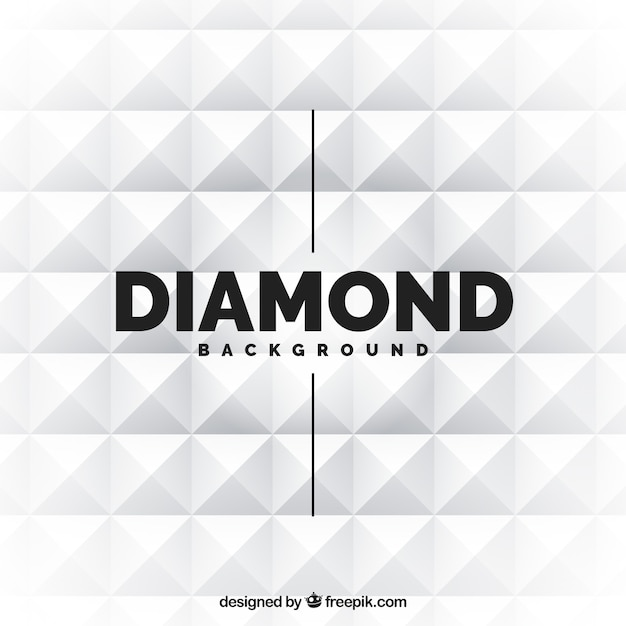 White diamond background Vector | Free Download