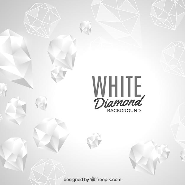 white diamond background vector free download