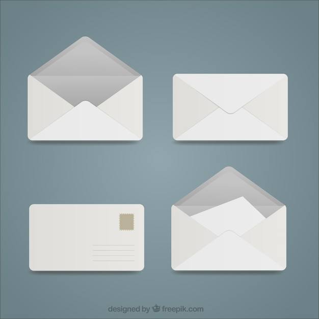 Envelope Vectors, Photos And PSD Files