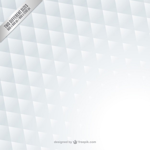 White geometric background Free Vector