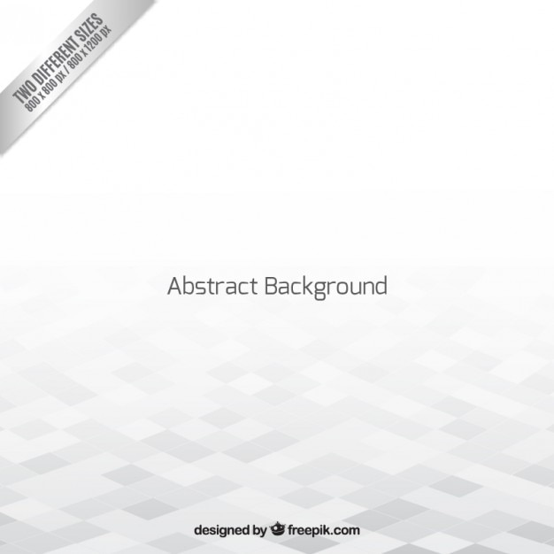 White geometric empty space background Free Vector